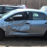 Toyota Yaris Sedan stripping for spares