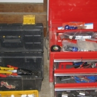 Toolboxes full of tools