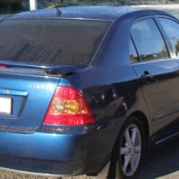 Toyota Corolla Bootlid with Spoiler