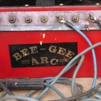 Bee-Gee oliebad sweismasjien