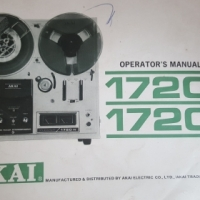 AKAI reel to reel machine