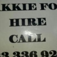 Ferndale Bakkie for hire