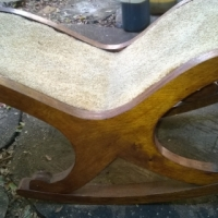 Antique foot stool