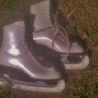 Stubbs special ice skating boots