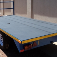 M.7. NEW BUILD FLAT DECK TRAILERS