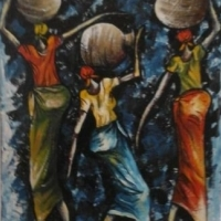 African oil paintings