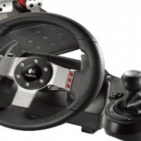 Second Hand Logitech G27 Steering wheel with Gear Shift (used 3times)