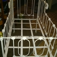 baby iron cot bed