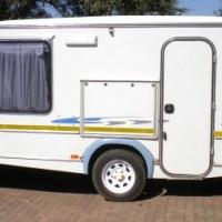 2007.Sprite Swing caravan
