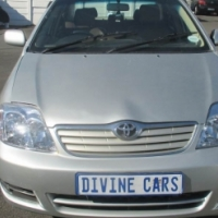 Toyota Corolla 1.8 Gsx with leather interior 2005  Model with 5 Doors Factory A/C and C/D Player.
