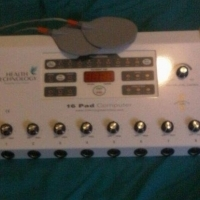 """SLIMMING MACHINE, 16 PAD COMPUTER PRO 16-C-PRO. FACE AND NECK ; BUST PADS"""""""