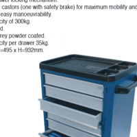 Gedore Tool Trolley 1581 (ONLY) NO TOOLS INCLUDED brand new this unit has never been used