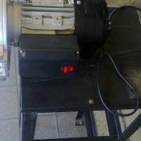 Biltong slicer on stand