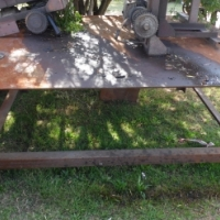 We are selling Steel tables with 12mm steel worktops