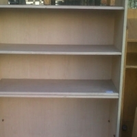 Oak Double Sided Shelve Unit...2units Availble
