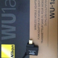 Nikon WU-1a wireless mobile adapter