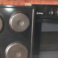 Used Balay oven and Hobbs R1200