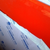 New 5mm thick red perspex peices - various sizes