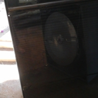 Kelvinator eye level oven (2 door) and 4 plate hub
