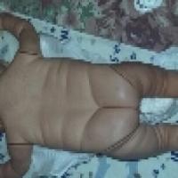 Vintage Newborn Baby Boy