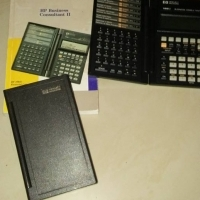 Hp Business caculaters x2 with a work manual for sale  Centurion