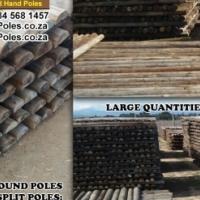 Wooden Poles - Good Quality Recycled - CCA treated - Variety of Sizes