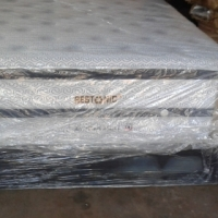 Never been Used Restonic Everest 152cm bed set for sale