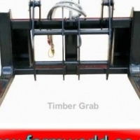 S564 New BPI Heavy Duty Front Loader Timber Grab / Swaardiens Boomstomp Klem (000MTMFL10BC)