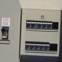 Electric circuit breakers in distribution board