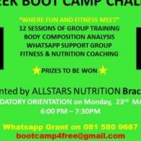 Free 4 week bootcamp
