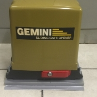 Gate motor Gemini incl. full kit as new sale or swap,6 months warranty left.