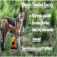 DIKHOLOLO Timeshare for sale
