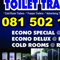 .Mobile Toilet Trailers For Sale From R49999.00 Special