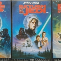 Star Wars origional collectors VHS set