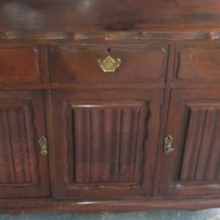 Antique Sideboard Ball and Claw