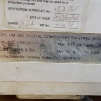 Price Computing Scales x 2 Teraoka SM 100
