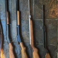 Old Bsa CROSMAN gecado Apache  air rifles for sale buy as a group
