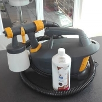 CARIBBEAN SPRAY TAN machine with tanning solution