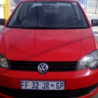 2013 volkswagen polo vivo 1.6 sedan red