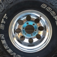 Brand new  Micky Thompson rims with tyres