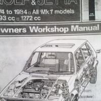 VW Golf MK1, ( all models ) : workshop manual