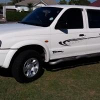 2004 Drifter Mazda double cab 2500 turbo diesel R95 000