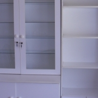 3 piece White Cupboards (Negotiable)