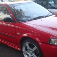 FINANCE AVALIABLE 2004 TOYOTA TAZZ 1.3 RED COLOUR