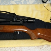 Weirhauch HW50 airgun with scope