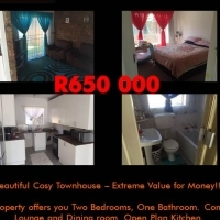 Beautiful Cosy Townhouse – Extreme Value for Money!!!