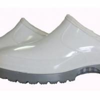 White slip on shoe
