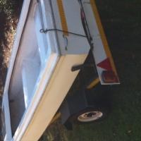 JNR Dingy, with custom built trailer
