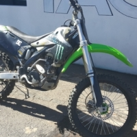 2006 Kawasaki 250f Off Road Dirt Bike