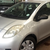 2006 Toyota Yaris T3 1.3 with 158927km's,Full Service History,Aircon,Central Locking,Spare keys,